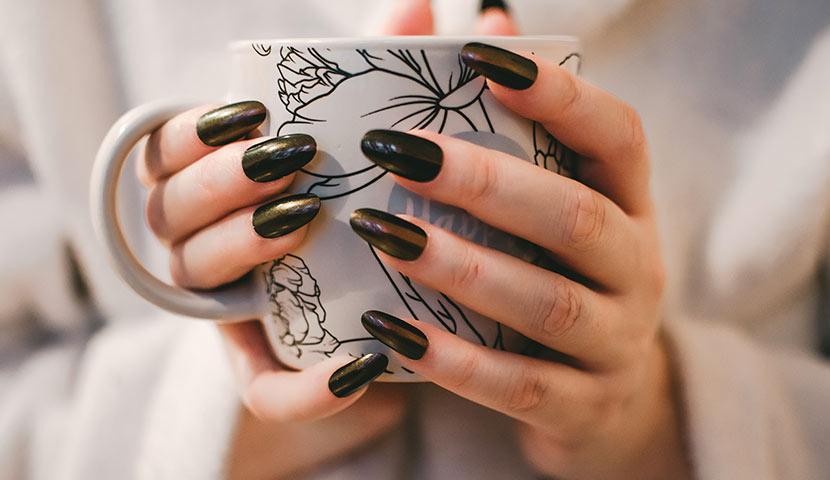 manicure hybrydowy hard